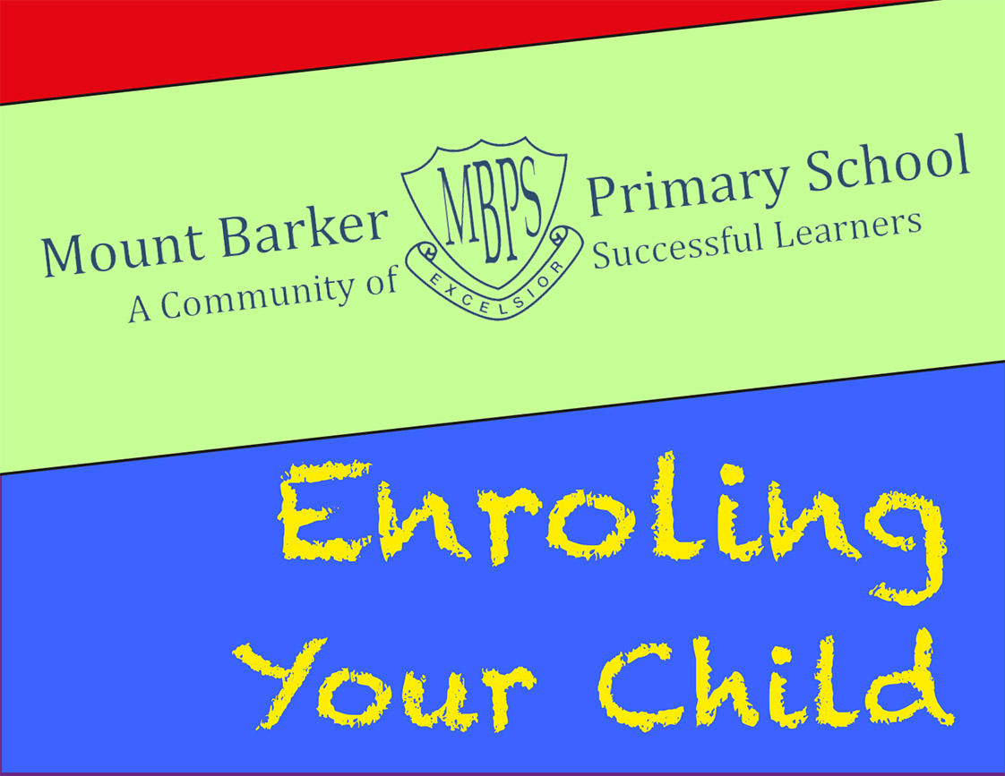 Enrol your Child at Mount Barker Primary School